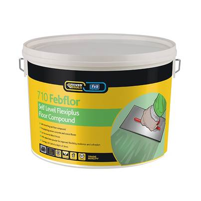 Everbuild 710 Self Level Flexiplus 10kg Tub