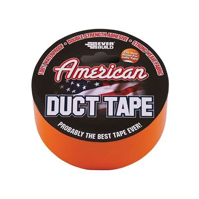 Everbuild American Duct Tape 50mm x 25m Orange