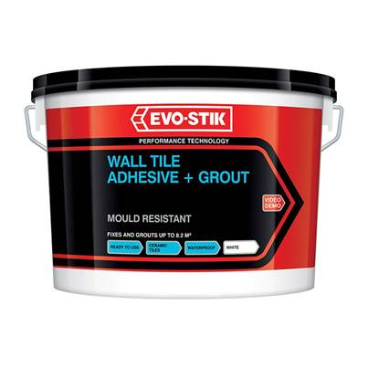 EVO-STIK Mould Resistant Wall Tile Adhesive & Grout