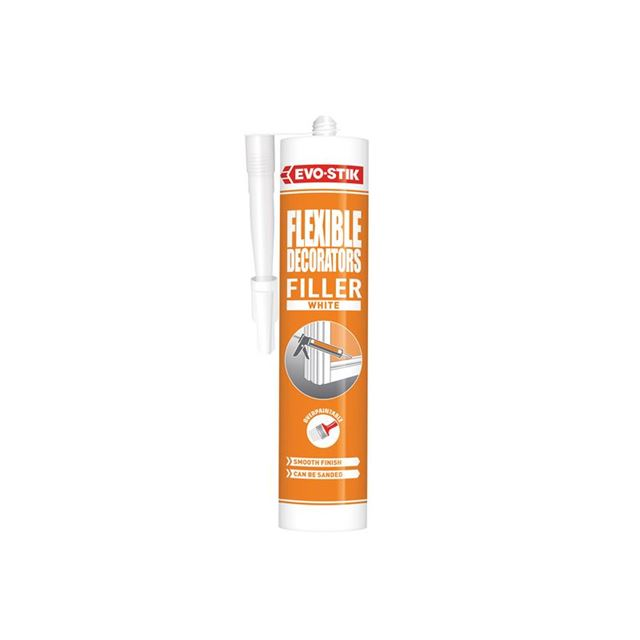 EVO-STIK Decorators Flexible Acrylic Filler White C20
