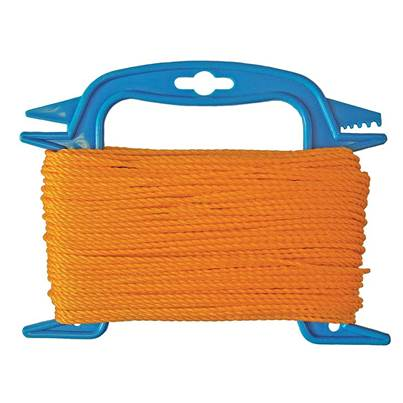 Faithfull 306 Polyethylene Ranging Line 30m (100ft) Orange