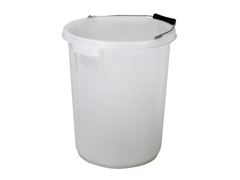 Faithfull Bucket 5 gallon (25L) - White