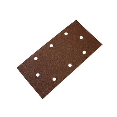 Faithfull 1/3 Sanding Sheet B/D Hook & Loop Holed Assorted (Pack 5)