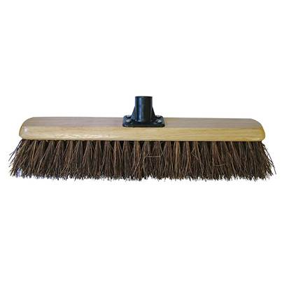 Faithfull Bassine Platform Broom Head 450mm (18in) Threaded Socket