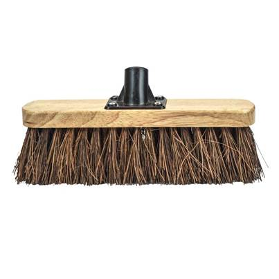Faithfull Bassine Varnished Broom Head 300mm (12in) Threaded Socket