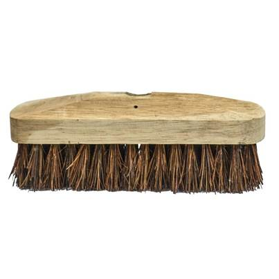 Faithfull Deck Scrub Stiff Broom Head 225mm (9in)