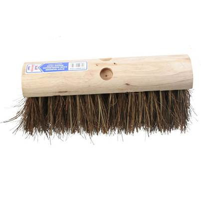 Faithfull Stiff Bassine / Cane Saddleback Broom Head 325mm (13in)