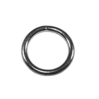Faithfull Zinc Plated Welded Rings 6mm (Pack 4)