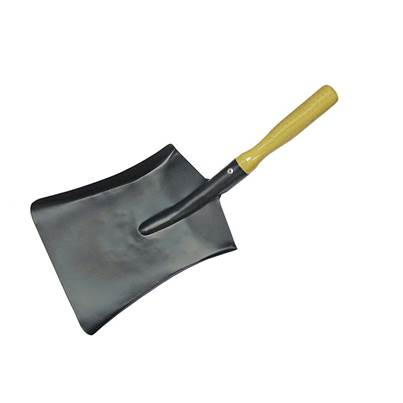 Faithfull Coal Steel Shovel Wooden Handle 230mm