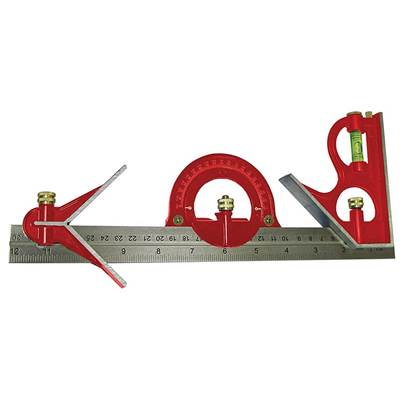Faithfull Combination Square Set 300mm (12in)