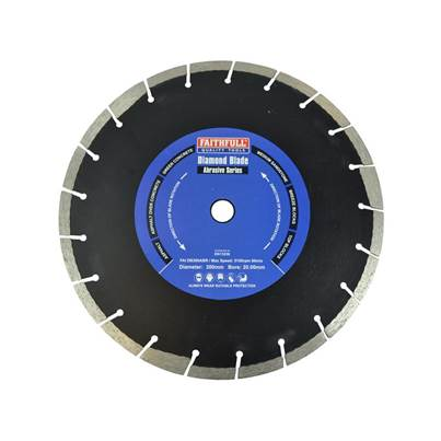 Faithfull Abrasive Series Diamond Blade
