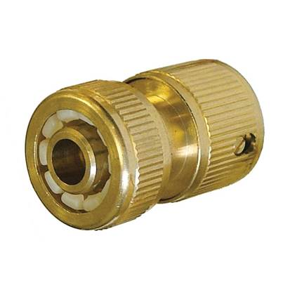 Faithfull Brass Female Hose Connector 12.5mm (1/2in)