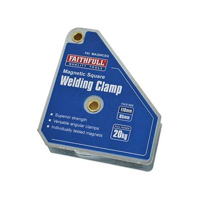 Faithfull Welding Magnet Square 100 x 95mm