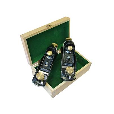 Faithfull No.9 1/2 & No.60 1/2 Block Planes in Wooden Box