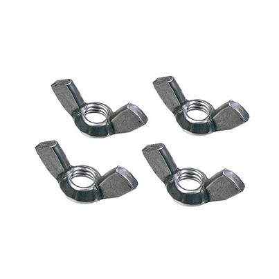 Faithfull External Building Profile Wing Nuts (Pack 4)