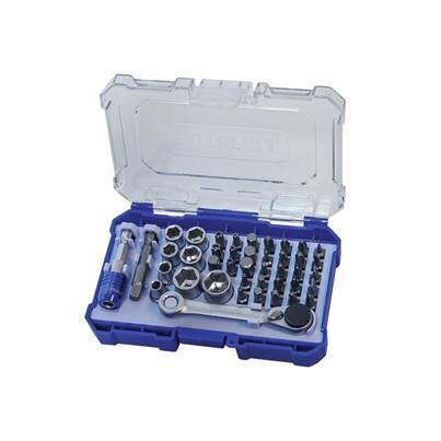 Faithfull Screwdriver Bit & Socket Set, 42 Piece