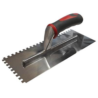 Faithfull Notched Trowel Serrated Edge