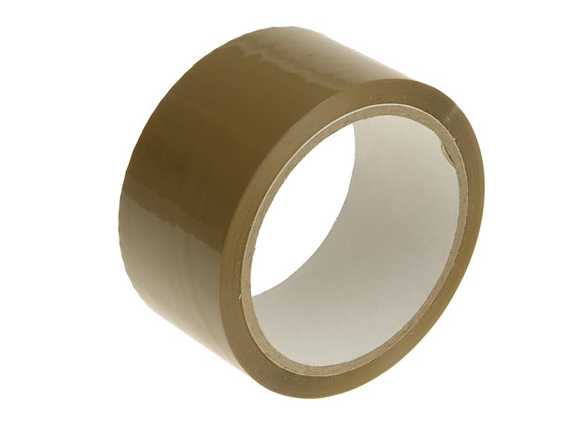 Faithfull Parcel Tape 48mm x 50m Brown
