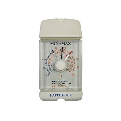 Faithfull Thermometer Dial Max-Min