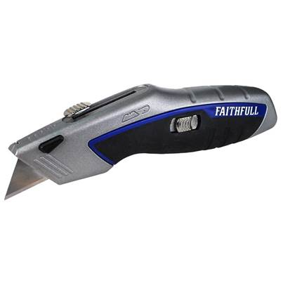 Faithfull Professional Auto-Load Utility Knife