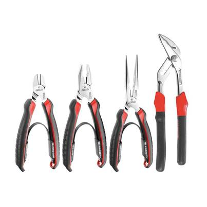 Facom Combination Pliers Set, 4 Piece