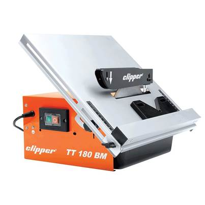 Flexovit TT180BM Water Cooled Pro Tile Cutter in Carry Case 550W 240V