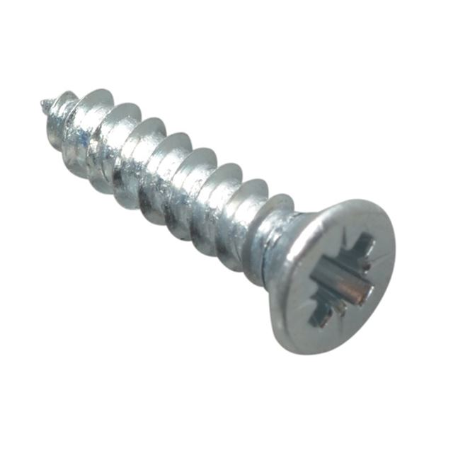 ForgeFix Self-Tapping Screw Pozi Compatible CSK ZP 1/2in x 4 ForgePack 60
