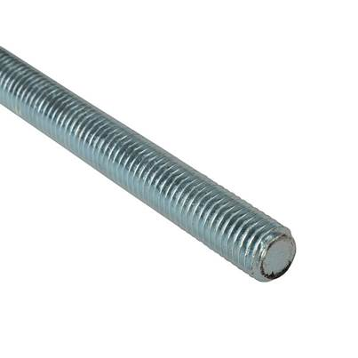 ForgeFix Threaded Rod, Mild Steel, ZP