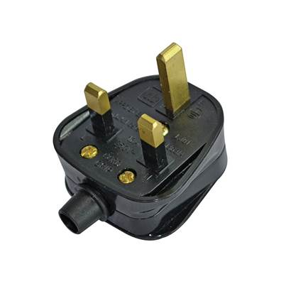 Faithfull Power Plus Black Plug 13A
