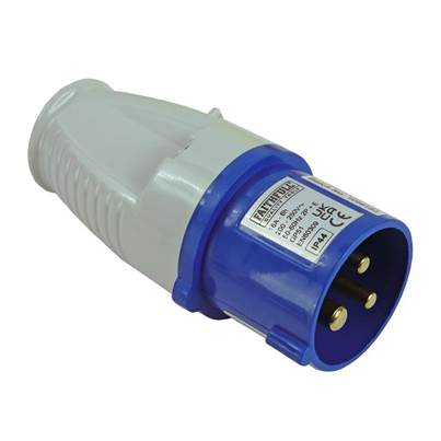 Faithfull Power Plus Blue Replacement Plug 16A