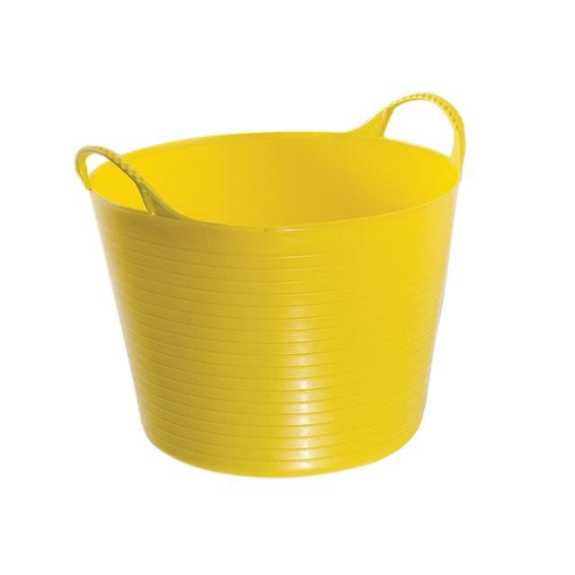 Red Gorilla Gorilla Tub® Small 14 litre - Yellow