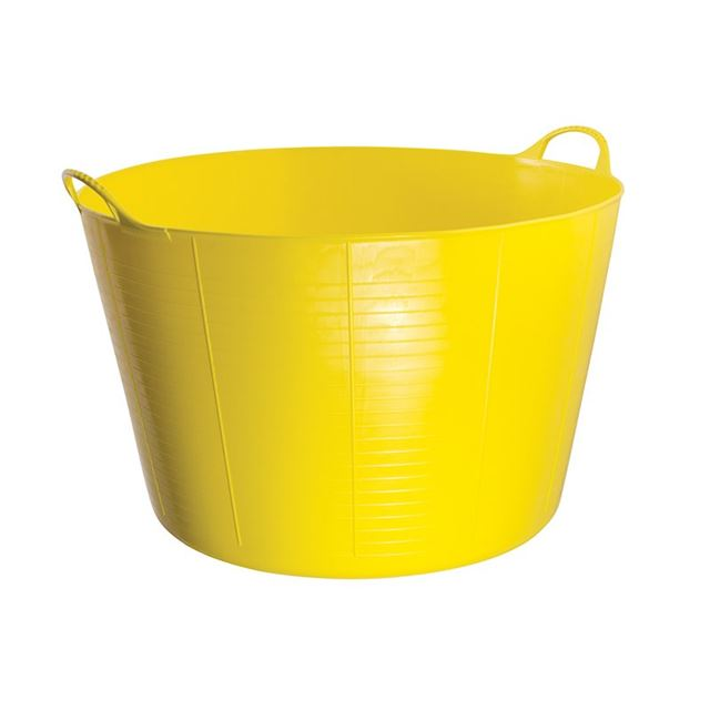 Red Gorilla Gorilla Tub® Extra Large 75 litre  - Yellow
