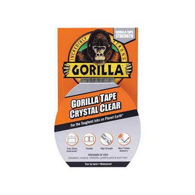 Gorilla Glue Gorilla Tape® Crystal Clear