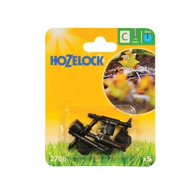Hozelock In Line Adjustable Mini Sprinkler 4mm (5 Pack)