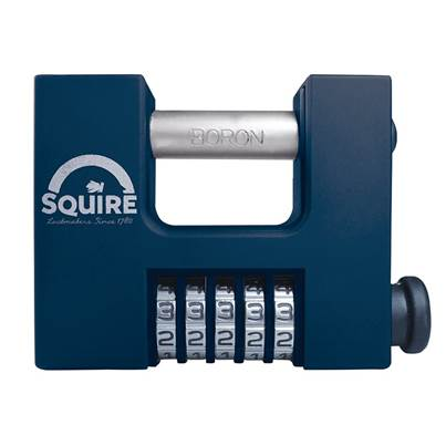 Squire CBW85 Hi-Security Shutter Combination Padlock 83mm
