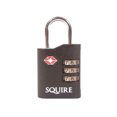Squire TSA Approved Recodable Combination Padlock 35mm