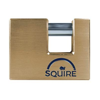 Squire Solid Brass Warehouse Padlocks