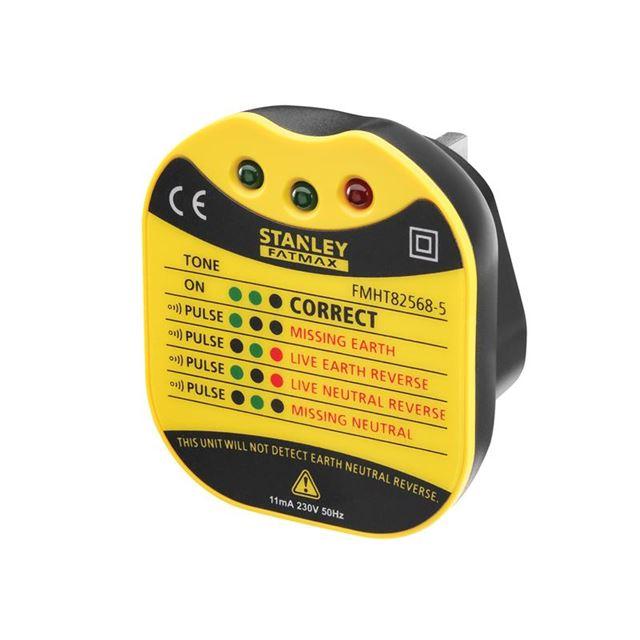Stanley Intelli Tools FatMax® UK Wall Plug Tester