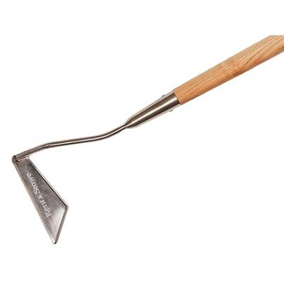 Kent & Stowe Long Handled 3-Edge Hoe, FSC®