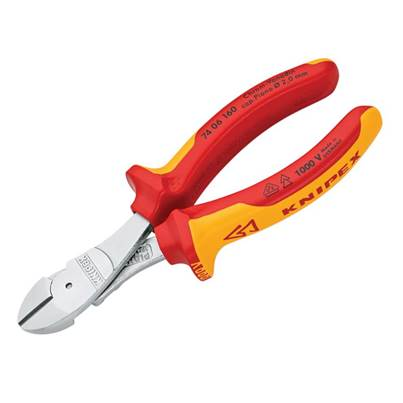 Knipex VDE High Leverage Diagonal Cutters