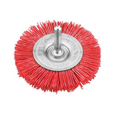 KWB Nylon Wheel Brush 100mm Coarse