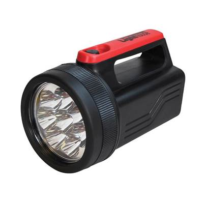 Lighthouse High-Performance 8 LED Spotlight with 6V Battery