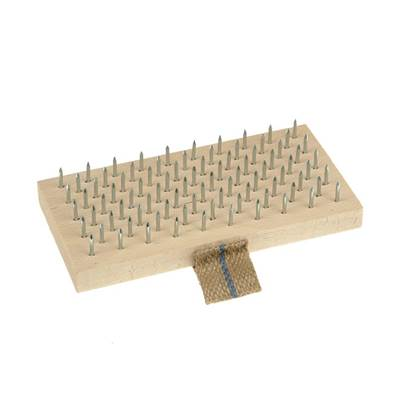 Lessmann Plasterer's Brush 190 x 95mm (Steel Pins)
