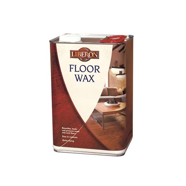Liberon Wood Floor Wax Clear 5 litre