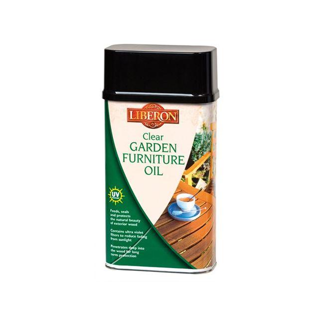 Liberon Garden Furniture Oil Clear 1 litre