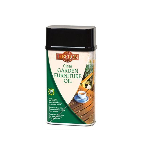 Liberon Garden Furniture Oil Clear 500ml