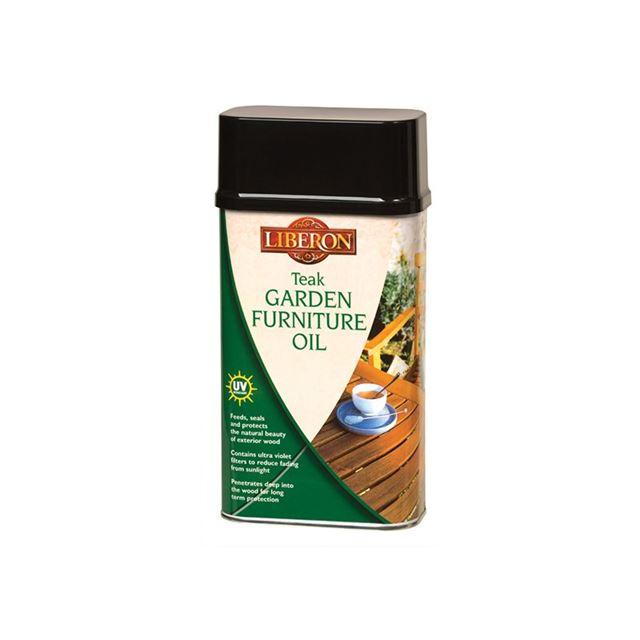 Liberon Garden Furniture Oil Teak 1 litre