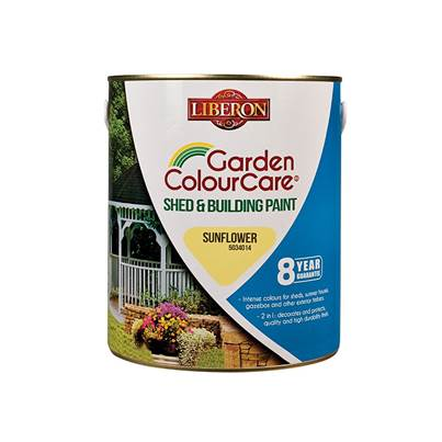 Liberon Shed & Building Paint Sun Flower 2.5 litre