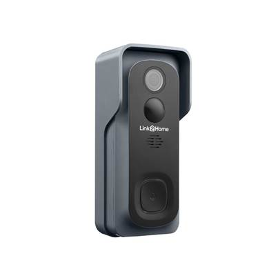 Link2Home Weatherproof (IP54) Smart Battery Doorbell