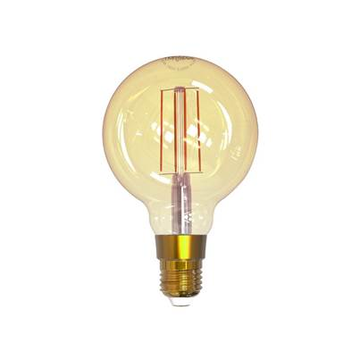 Link2Home Wi-Fi LED ES (E27) Balloon Filament Dimmable Bulb, White 470 LM 5.5W
